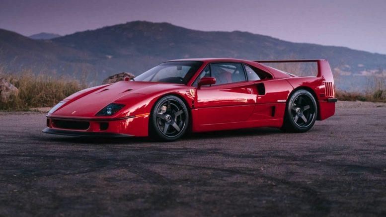Ferrari F40 A Child S Dream Supercarnerd